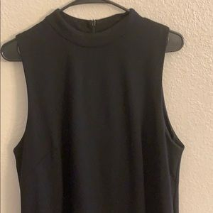 H&M black body con dress large